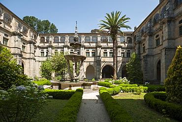 Monastery of St. Julian of Samos, Samos, Lugo, Galicia, Spain, Europe