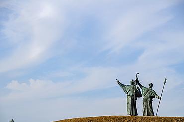 Monte do Gozo (Mount Joy), Santiago de Compostela, A Coruna, Galicia, Spain, Europe