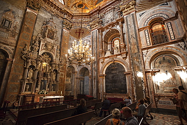 The Cathedral of Santiago de Compostela, UNESCO World Heritage Site, Santiago de Compostela, A Coruna, Galicia, Spain, Europe