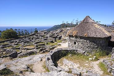 Celtic Castro of Santa Tegra, Pontevedra, Galicia, Spain, Europe