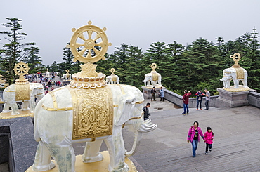 Emei Shan, UNESCO World Heritage Site, Sichuan Province, China, Asia