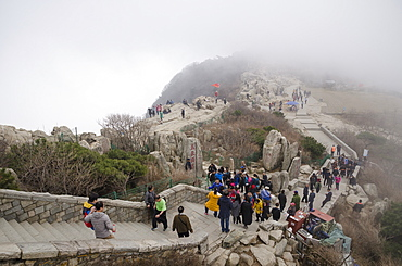 Mount Taishan, UNESCO World Heritage Site, Taian, Shandong province, China, Asia