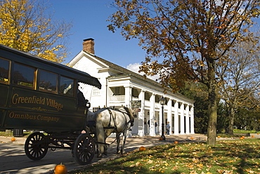 Henry Ford Museum and Greenfield Village, Dearborn, Michigan, United States of America, North America