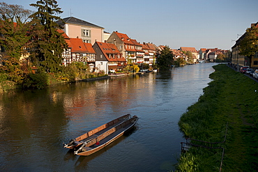 Klein-Venedig (Little Venice), Bamberg, UNESCO World Heritage Site, Bavaria, Germany, Europe