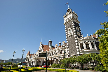 Railway Station, Dunedin, Otago, South Island, New Zealand, Pacific