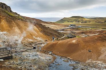 Seltun, Krysuvik geothermal area, Reykjanes Peninsula, Iceland, Polar Regions