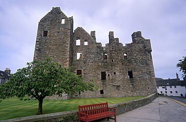 MacLellan's Castle, Kirkcudbright, Dumfries and Galloway, Scotland, United Kingdom, Europe