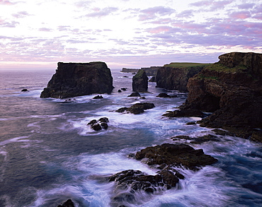 Eshaness Cliffs, Shetland Islands, Scotland, United Kingdom, Europe