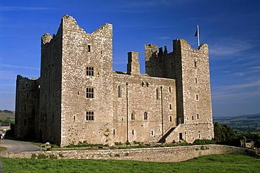 Bolton Castle, where Mary Stuart was imprisoned, Wensleydale, Yorkshire Dales National Park, Yorkshire, England, United Kingdom, Europe