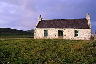 House, Fair Isle, Shetland Islands, Scotland, United Kingdom, Europe