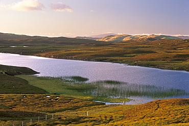 Ulma Water, West Mainland, Shetland Islands, Scotland, United Kingdom, Europe