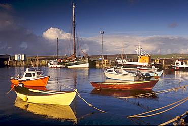 Lerwick old harbour, Mainland, Shetland Islands, Scotland, United Kingdom, Europe