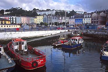 Cobh Harbour, Cobh (Cork), County Cork, Munster, Republic of Ireland, Europe