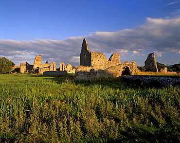 Athassel Priory, founded in 1192, burned in 1447, once the largest monastery in Ireland, near Cashel, County Tipperary, Munster, Republic of Ireland, Europe