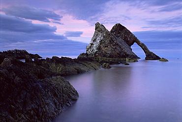 Bow Fiddle Arch near Portknockie, Morayshire, Scotland, United Kingdom, Europe