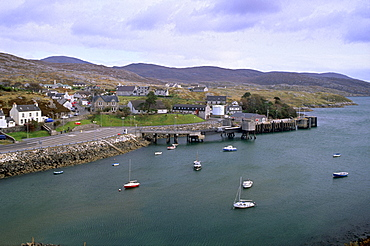 Tarbert, ferry terminal, Harris, Outer Hebrides, Scotland, United Kingdom, Europe
