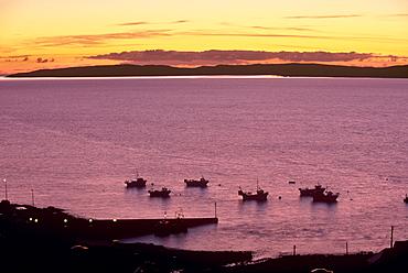 Elgol small fishing harbour, Isle of Skye, Inner Hebrides, Scotland, United Kingdom, Europe