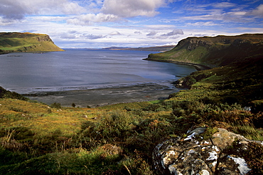 Camas Bay near Portree, Isle of Skye, Inner Hebrides, Scotland, United Kingdom, Europe