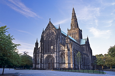 St. Mungo Cathedral dating from the 15th century, Glasgow, Scotland, United Kingdom, Europe