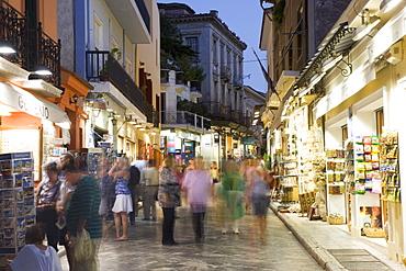 The Plaka District, Athens, Greece, Europe