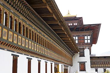 Trashi Chhoe Dzong, Thimphu, Bhutan, Asia