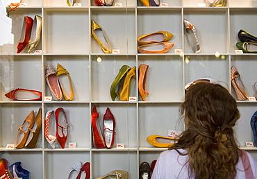 Shopping, Turin (Torino), Piedmont, Italy, Europe