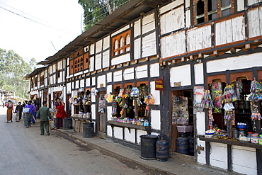 The village of Wangdue Phodrang, Bhutan, Asia
