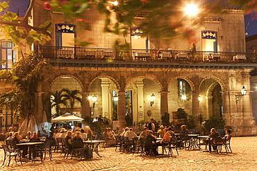 Plaza de la Catedral, Havana, Cuba, West Indies, Central America