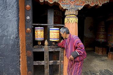 Bumthang Valley, Bhutan, Asia