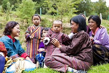 Trongsa, Bhutan, Asia