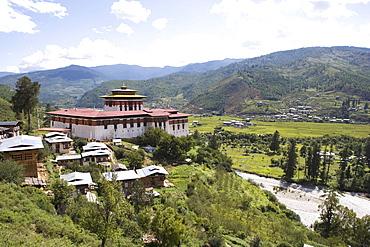 Paro Dzong, Paro, Bhutan, Asia