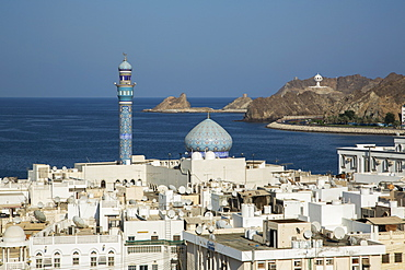 Mutthra district, Muscat, Oman, Middle East