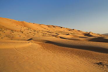 Wahiba Sand Dunes, Oman, Middle East