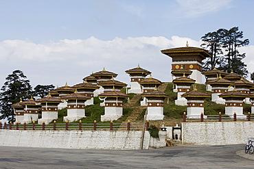 Druk Wangyal Chorten, Bhutan, Asia