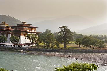 Punakha Dzong, Punakha, Bhutan, Asia