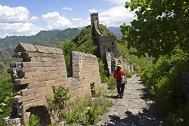 Simatai section of the Great Wall, UNESCO World Heritage Site, near Beijing, China, Asia