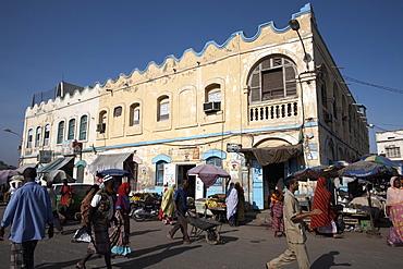 Place du 27 Juin 1977 (Place Menelik) at the heart of the European Quarter, Djibouti City, Djibouti, Africa