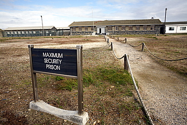 The prison on Robben Island, Cape Town, South Africa, Africa