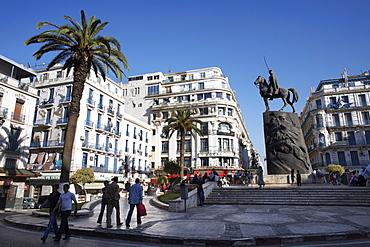 Place Emir Abdelkader, Algiers, Algeria, North Africa, Africa
