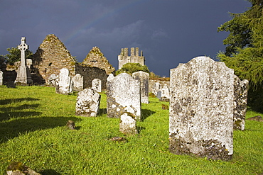 Kilcash church and burial ground, County Tipperary, Munster, Republic of Ireland, Europe