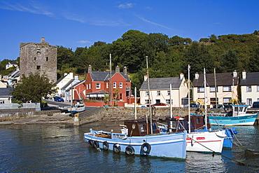 Ballyhack fishing village, County Wexford, Leinster, Republic of Ireland, Europe