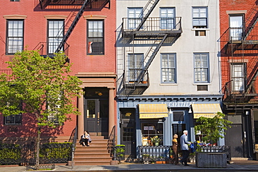 9th Avenue in Chelsea District, Midtown Manhattan, New York City, United States of America, North America