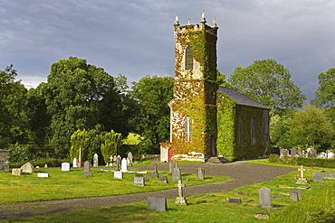 Enniseag Church, County Kilkenny, Leinster, Republic of Ireland, Europe