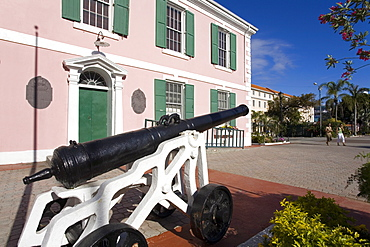 Parliament Building, Nassau, New Providence Island, Bahamas, West Indies, Central America