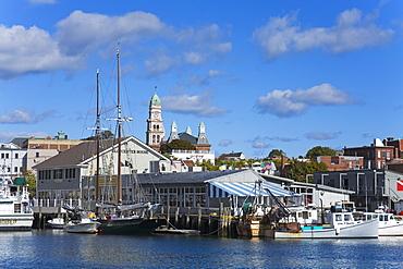 Gloucester Inner Harbor, Cape Ann, Greater Boston Area, Massachusetts, New England, United States of America, North America