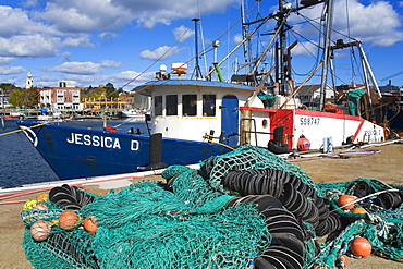 Commercial fishing boat, Gloucester, Cape Ann, Greater Boston Area, Massachusetts, New England, United States of America, North America