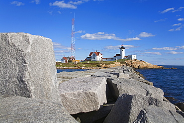 Eastern Point Lighthouse, Gloucester, Cape Ann, Greater Boston Area, Massachusetts, New England, United States of America, North America