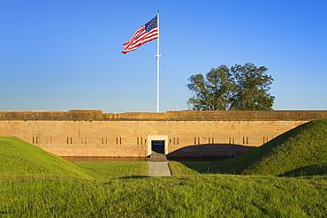 Fort Pulaski National Monument, Savannah, Georgia, United States of America, North America
