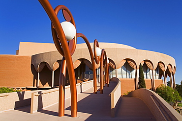 Gammage Auditorium, architect Frank Lloyd Wright, Arizona State University, Tempe, Greater Phoenix Area, Arizona, United States of America, North America