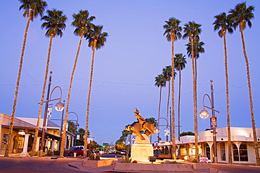 Jack Knife sculpture by Ed Mell, Main Street, Arts District, Scottsdale, Phoenix, Arizona, United States of America, North America